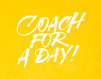 Coach for a day! - CheBanca! Activation