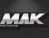 Mak Motions Logo Design