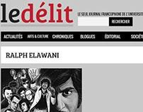 Le Délit - Chronique hebdomadaire, McGill (2009)