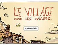 """""""Village in the Clouds"""" French Open Studio Comic Page"""