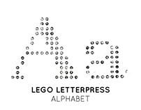 Alphabet - Lego Letterpress