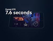 7.6 seconds with Passat GTE