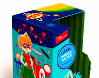 KARISMA KIDZ, Toy's packaging design
