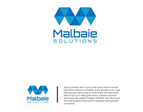 logo design for Malbaie Solutions