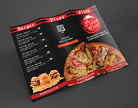 PIZZA TRI FOLD BROCHURE