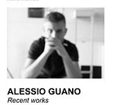 ALESSIO GUANO Recent works