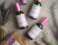 CARSTICA lavanda home products | Identity, packaging