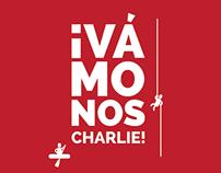 Branding: Vámonos Charlie!