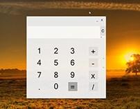 Windows App Calculator