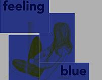 Installation / Blau