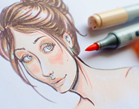 Copic - Face