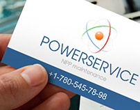 """LOGO DESIGN & BUSINESS CARD for company """"Powerservice"""""""