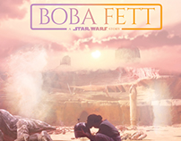 BOBA FETT // Alternative Movie Poster