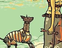 Kirri and the machina dog