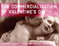 Valentine's Day Website Concepts