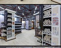 Store design for Petrovich building trading house .