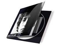 Projeto Gráfico CD Bob Dylan