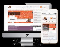 Extranet & Brand Center UI/UX