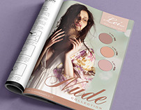 Clarissa Nails Advertising pages collection