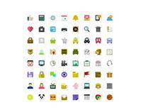 64 Pixel Perfect Icons