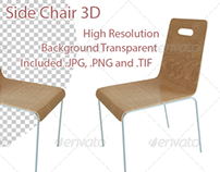 Side Chair 3D Render