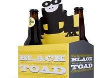 Black Toad Beer Packaging
