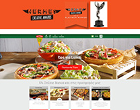 "Pizza Fan Homepage ""Hermes Awards"" Platinum Winner"