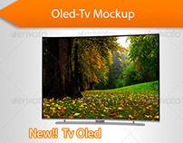 Tv Oled Mockup