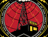 Radio Blackout - 20th anniversary - T-Shirt