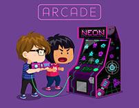 GIF - NEON Arcade