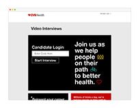 HireVue Client Landing Pages