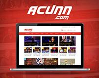 Acunn.com Redesign Concept