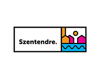 Logo for city of Szentendre