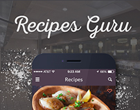 Recipes Guru iOS App