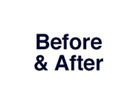 Advertisement: Before & After