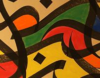 LOVE Calligraffiti