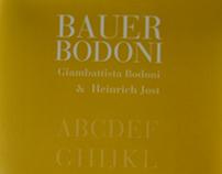 Catálogo Bauer Bodoni