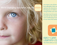 Early Care and Learning Center branding