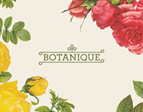 Botanique - Identity and Packaging