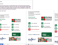 Graphic designs for Duna College