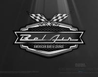 BEL AIR • AMERICAN BAR & LOUNGE • The Logo