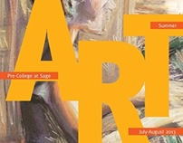 The Sage Colleges Summer Art high school promotion