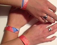 BATA Shoe Museum wristbands