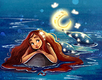 Night Sky Mermaid