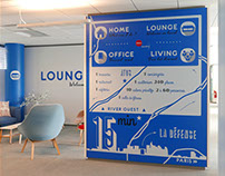 Blue Office : coworking space