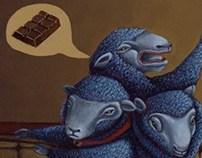 ilustracion chocolate