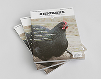 Chickens Magazine Redesign
