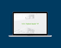 Porto Business School —Talent Book 2017