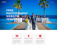 Free Photography Website Template – Photography