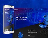 Spieltek website - Redesign concept